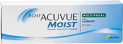 1 day moist multifocal contact lenses by Vistakon