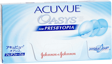 Acuvue Oasys for presbyopia 2 weekly contact lenses