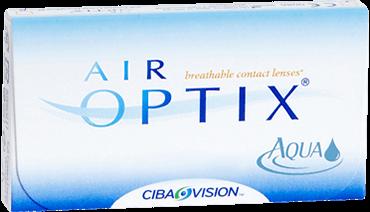 Ciba Air Optix Aqua Monthly Contact Lenses
