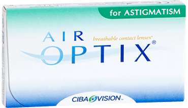 Cib Air Optix for astigmatism monthly contact lenses