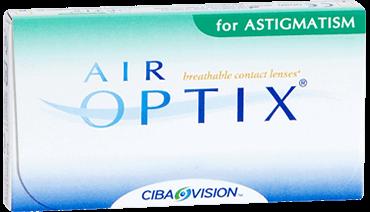 Cib Air Optix for astigmatism monthly contact lenses