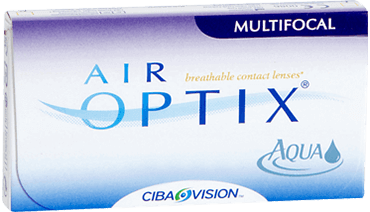 Air optix multifocal monthly contact lenses