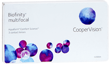 Biofinity Multifocal monthly contact lenses