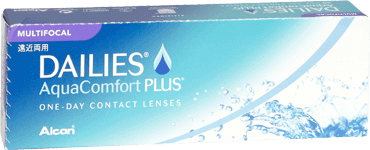 Dailes aqua comfort plus multifocal contact lenses