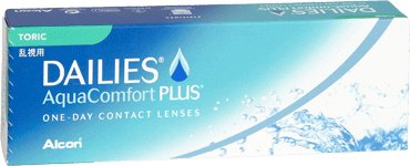 Dailes aquacomfort plus toric contact lenses