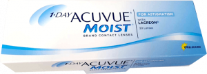1 day ACUVUE mois for astigmatism